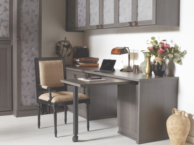 Tidiness can encourage home office productivity