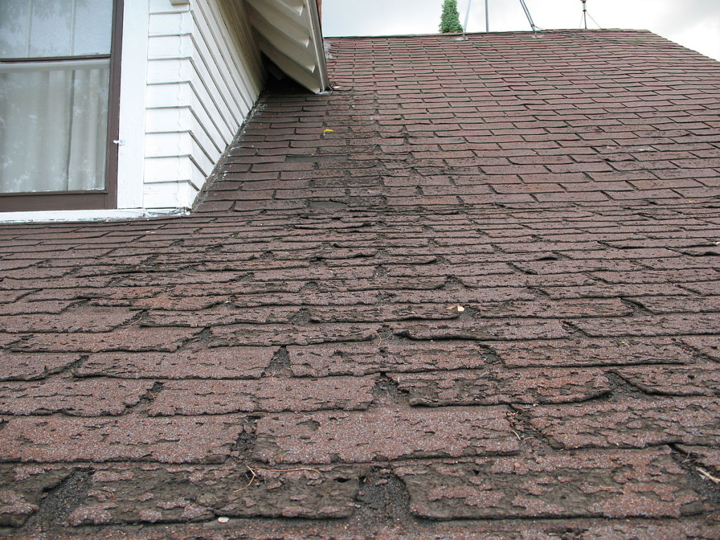If your shingles look like this, Remodeling Your Roof should be on your repair agenda