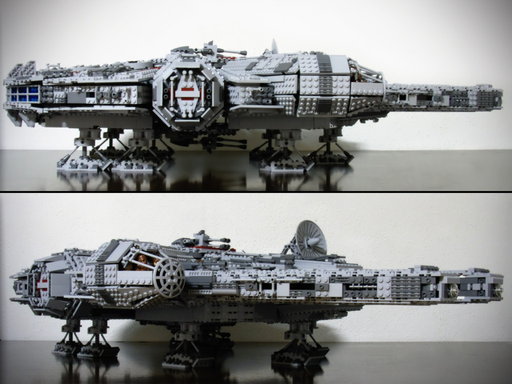 The_LEGO_UCS_Millennium_Falcon_(Side_and_Angle_Views)