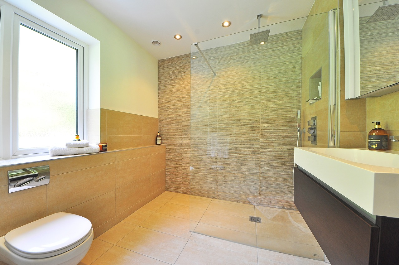 Want a wet room or bathroom? That's a decision you'll have to make for yourself...