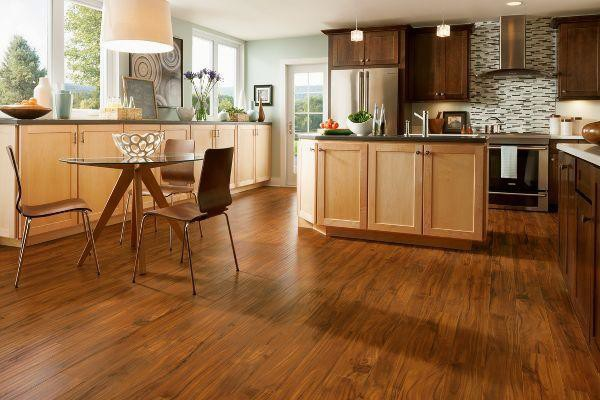 Laminate Flooring in the Kitchen might be the look for you