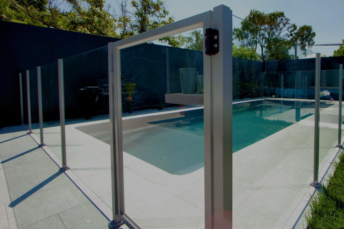 Semi Frameless Pool Fencing Professional Installation Helps Merge
